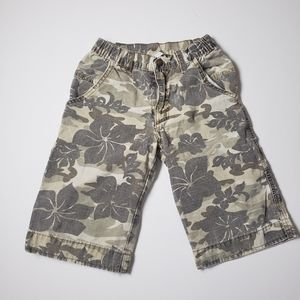 Charlie Rocket Camo and Tropical Floral Shorts